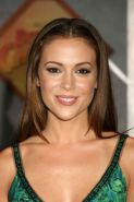 Alyssa Milano showing her nice big tits and pussy