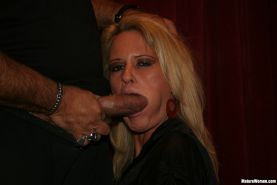 Seductive Blonde Getting Drilled by Ron Jeremy