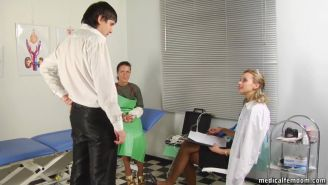 Submissive man for crazy femdom games