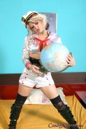 kinky Candy Monroe dressed as a sailor gets banged by a black