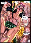 librarian breasts squeezed nipple pinched