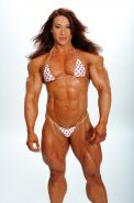 Muscular Goddess marvelous impressive muscles in bikini
