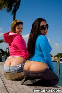 Hardcore with big asses babes fucking their nasty pussies