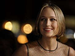 Leelee Sobieski looking very hot in little black dress at 'Love  Other Drugs' sc