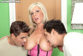 Mature Naughty Alysha actually loves two cocks