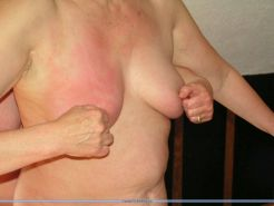 Amateur lesbians needle pain and extreme tied nipple piercing punishment by merc