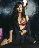 Monica Bellucci going topless with great chick