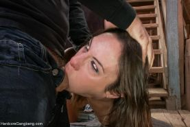 Anal Whore Amber Rayne takes two Dicks in her Ass!