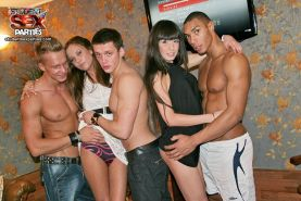 Extremely hot group orgy with drunk coeds