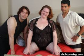 Cock Hungry Chubby Chick Tag Teamed