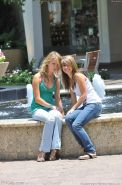 Real amateur lesbian teens exposing, toying and licking outdoor