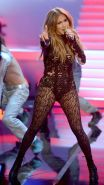 Jennifer Lopez see-through to underwear at the concert and TV show in Dusseldorf
