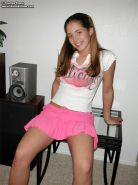 Tawnee Stone strips out of her pink skirt
