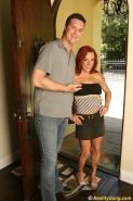 Busty flexible redhead Shannon Kelley sucks and fucks