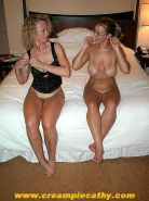 Blonde wives sharing friends cock juices