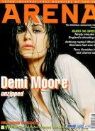 Sweet Demi Moore nipple slip in public