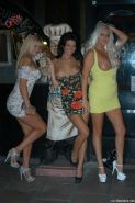 Two cute English babes Vanessa Walker and Nikki Hedger flashing from cars and nu