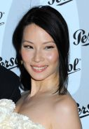 Lucy Liu showing her sweet nude perky tits