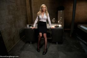 In this fantasy roleplay update Samantha Sin plays a sexy prison warden who acci