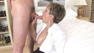 Lady Sonia Riding Lovers Hard Cock
