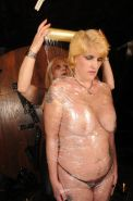 Mummified slave girl Karinas lesbian clingfilm bondage and domination in restrai