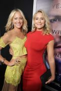 Brittany Daniel and her hot twin sister Cynthia at the film premiere in LA