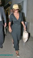 Halle Berry show thong in see thru dress and tit slip pics