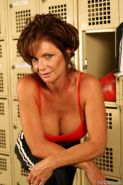 Busty MILF Deauxma Changing in Women's Locker Room