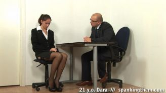 Boss strips down and paddles a secretary