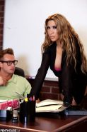 Kayla Carrera seduces her geek student in the classroom