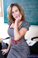 lovely Brandi Love getting busy in the classroom