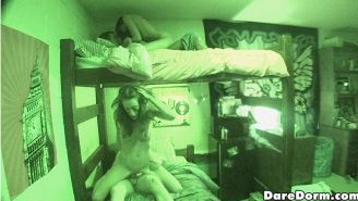 4 hot oiled up teens fucked hard in these real pov college submitted dorm room p
