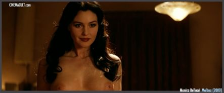 Supersexy actress Monica Bellucci nude scenes from Malena