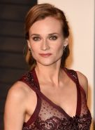 Diane Kruger shows off her boobs and ass in sheer dress