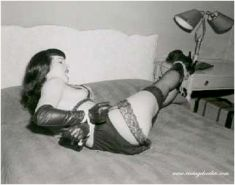 Bettie Page best pinup fetish model