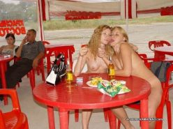 Amateur teen GFs nude in public and sucking cock in homemade pix
