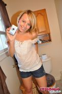 Self shot teen blonde