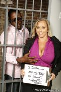 Amber Lynn Bach fucking a big black cock at Dogfart