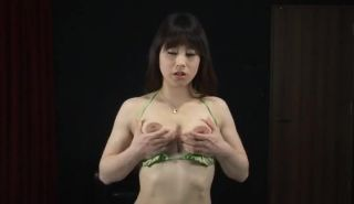 Milk squirting Japanese boobs