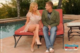 Bored wife Taylor Wane caught cheating on hubby with another man