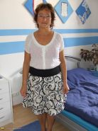 Kinky mature Gabriele loves to be tied up