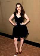 Busty Kat Dennings showing cleavage at the 2013 CBS/CW/Showtime Summer TCA Party