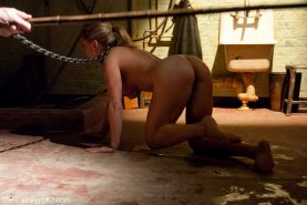 Bondage slave Dia Zerva trained by two doms #72145031