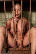 Bondage slave Dia Zerva trained by two doms #72145092