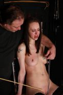Breast caned and needle tortured Emily punished to tears in extreme bdsm and boo