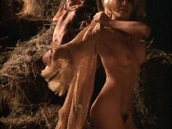 Angie Dickinson exposing her big boobs and hairy pussy in nude movie scene