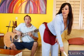 Busty hot mom Lisa Ann pounded hard by her sons friend