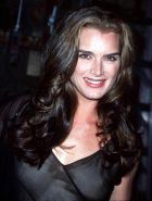 Amazing babe Brooke Shields showing her hot ass