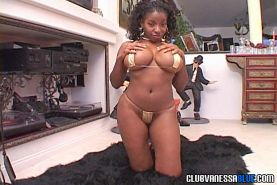 Dildo-loving big-boobed nympho Vanessa Blue getting wild