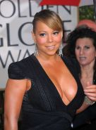Mariah Carey posing and showing her amazing huge and sexy boobs